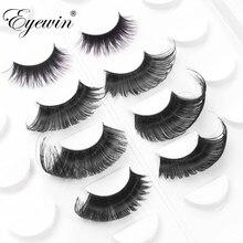 Eyewin False Eyelashes For Drag Queen Exaggerating Dramatic Lash Maquiagem Makeup Full Strip Eyelash Crossing 3D Mink