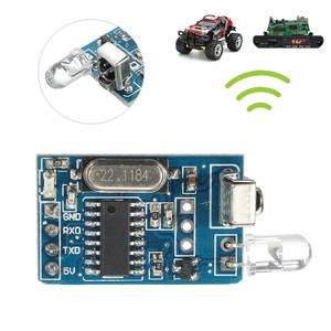 LEORY Module Transmitter-Receiver DIY IR 5V Wireless Encoding Circuits Infrared-Remote-Decoder