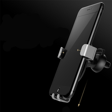 Car Phone Holder Universal Air Vent Mount Clip Cell Phone Holder for 360 Degree Rotation Car Holder metal Gravity support стоимость