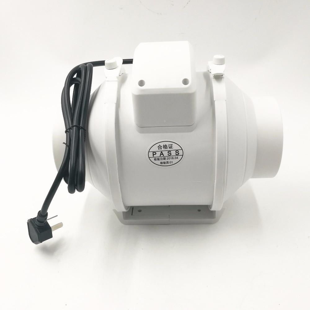 Oblique Flow Increase Pressure Pipe Fan 100mm Mute