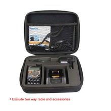 Tailored Storage Box/Bag Carrying case for Retevis 5R/5RV Baofeng UV-5R TYT TH-F8 Two Way Radio Walkie Talkie J7105N