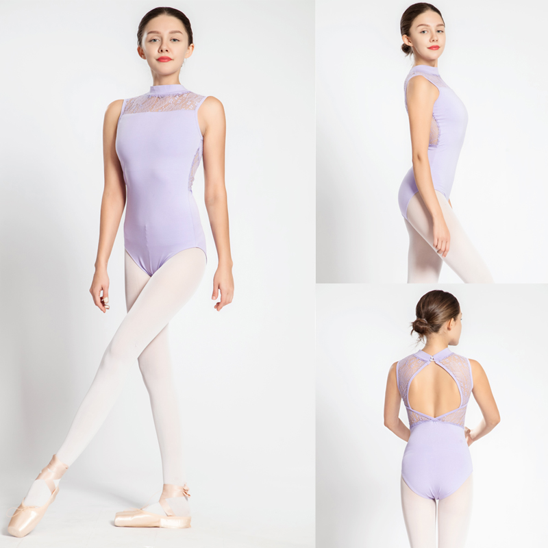 gymnastics-leotard-women-high-necked-lace-dance-costume-women-high-quality-sexy-black-lilac-font-b-ballet-b-font-gymnastics-leotard-bodysuit