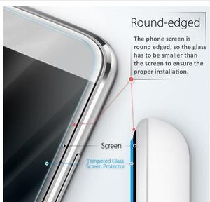 Image 3 - 2pcs Tempered Glass For Prestigio Muze E5 LTE Screen Protector 9H 2.5D Phone Protective Glass For Prestigio Muze E5 LTE Glass