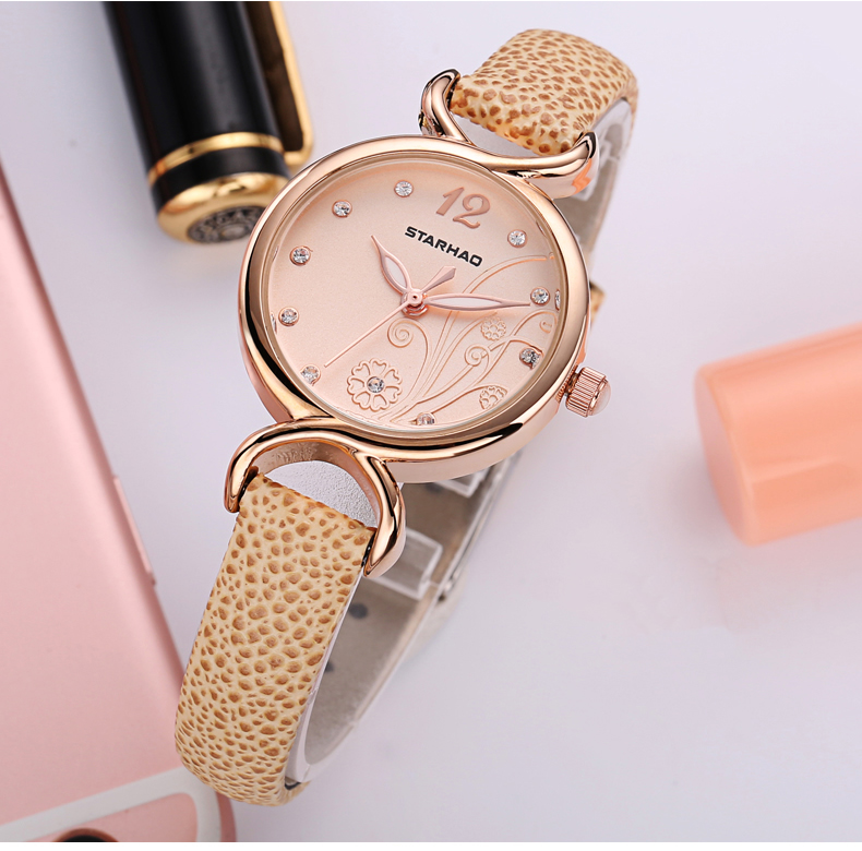 OTS NEW High Quality Brand PU Leather Watch Women Ladies Fashion Dress Quartz Wristwatch Roman Numerals Watches Christmas gift cheap fashion glitter dial clock watch women casual pu leather analog quartz watch roman numerals dress watches wristwatch