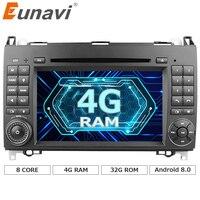 Eunavi Ndroid 6 0 1 Octa 8 Core Car DVD Player For Benz Sprinter Vito W169