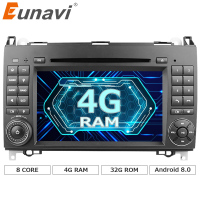 Eunavi Ndroid 6 0 1 Octa 8 Core Car DVD Player For Benz Sprinter Vito W169