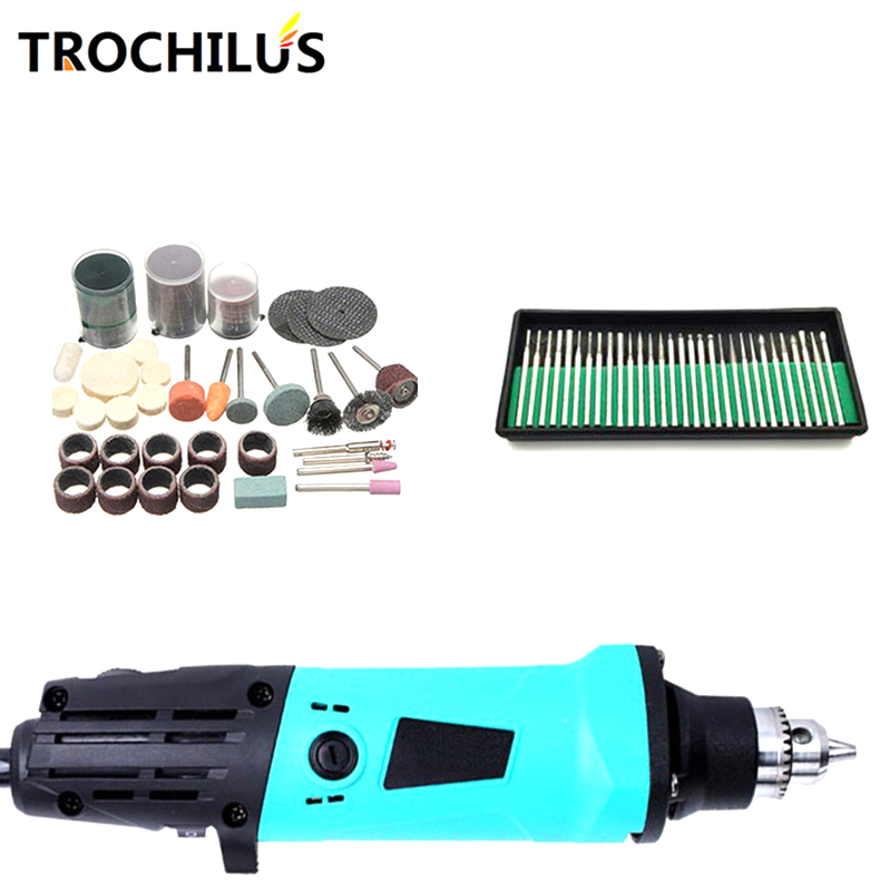 Trochilus electric tools dremel 380W Mini grinder  variable speed angle grinder DIY creative  mini drill engraver tool kits 220v mini electric drilling machine variable speed micro drill press grinder pearl drilling diy jewelry drill machines