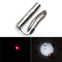Cheaper HGHomeart LED flashlight with charger  lanterna rechargeable laser Tungsten wire smoke keychain portable outdoor camping lamp