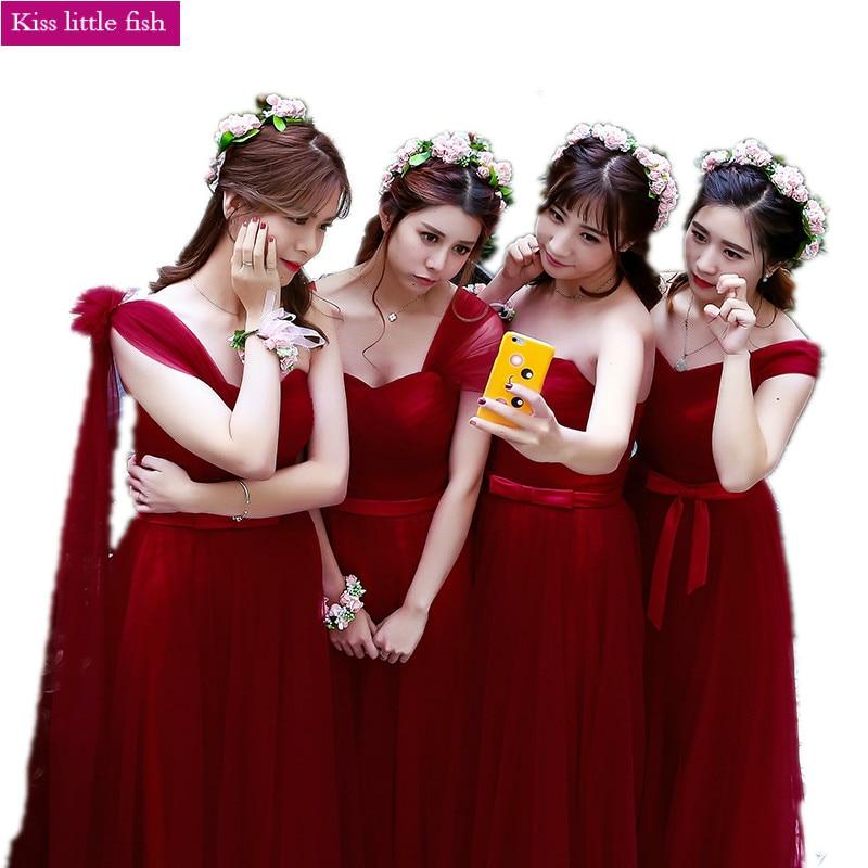 Robe rouge pour la demoiselle d'ho ...