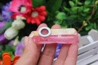 42 gram van natuurlijke quartz crystal stone vergulde pijp roken cure A6