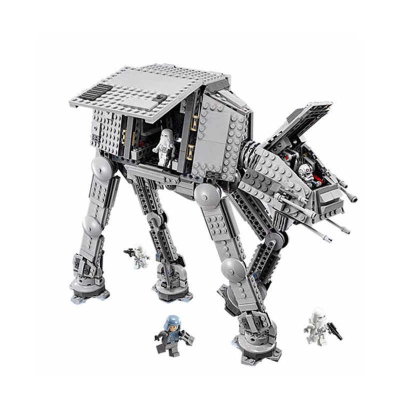 1206pcs Diy Star Series Wars Force Awaken AT Transpotation Armored Robot Compatible With Legoingly 75054 Blocks