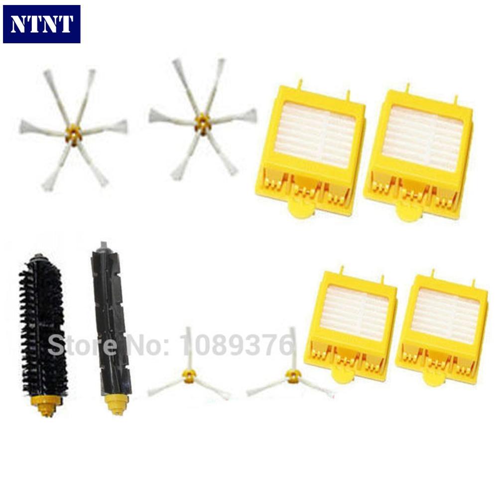 NTNT Fast Post NTNT Brush 3 & 6 armed Pack For iRobot Roomba Vacuum Parts 700 Series 760 770 780 790 цены онлайн