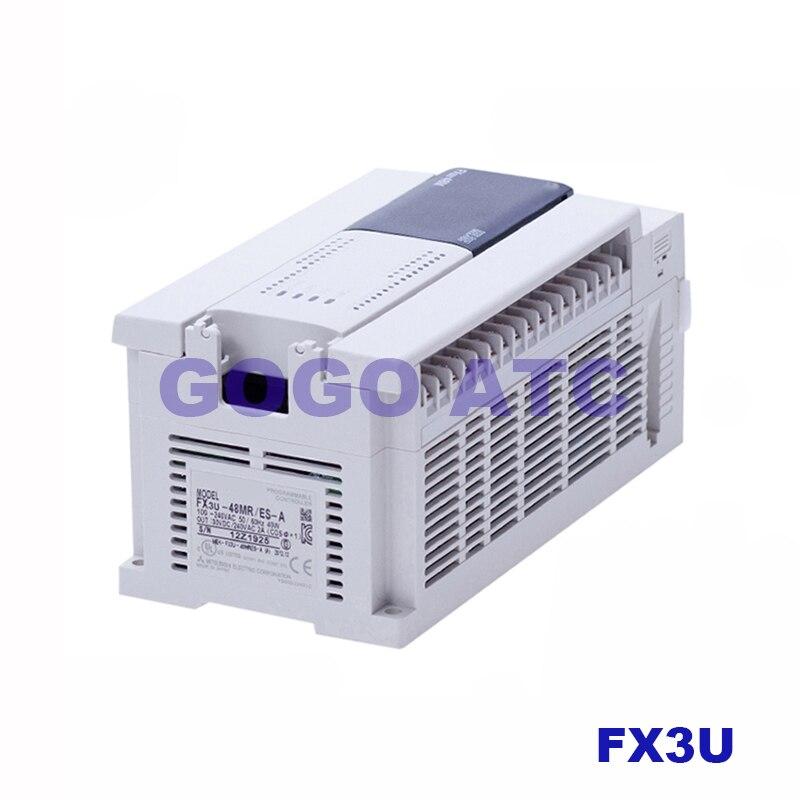 耐久性のある PLC プログラマブルコントローラ FX3U 32MT/ES A 16MR FX3U 48MR 64MR 80MR 128MR/MT リレー 220 V モーター  グループ上の 家のリフォーム からの 空気動力部品 の中 1