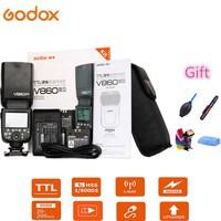 Godox Ving V860II S V860II N V860II C V860II F V860II O Flash Speedlite TTL HSS Li Battery for Sony Nikon Canon Olympus Fujifilm