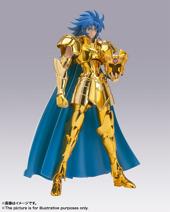 "100% Originele BANDAI Tamashii Naties Saint Doek Mythe EX Action Figure Gemini Saga van ""Saint Seiya""-in Actie- & Speelgoedfiguren van Speelgoed & Hobbies op  Groep 3"