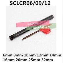 1 Uds 6mm 8mm 10mm 12mm 14mm 16mm 18mm 20mm 25mm 32mm SCLCR06 SCLCR09 SCLCR12 SCLCL06/09/12 El derecho/mano izquierda Herramientas de Torneado Cnc