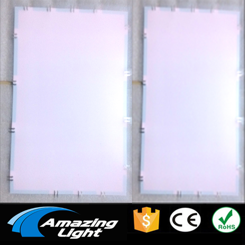 White Color A4 Cuttable El Backlight El Light Panel El Backlight Panel With Inverter And Connector