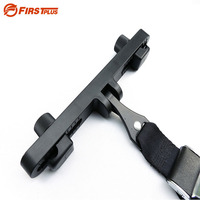 ISOFIX Latch Connector Interfaces Guide Bracket Holder For Car Baby Child Safety Seat Belts Headrest Mount