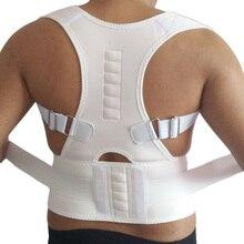 Magnetic Corrector Postural Belts Adjustable Posture Corrector In Braces &