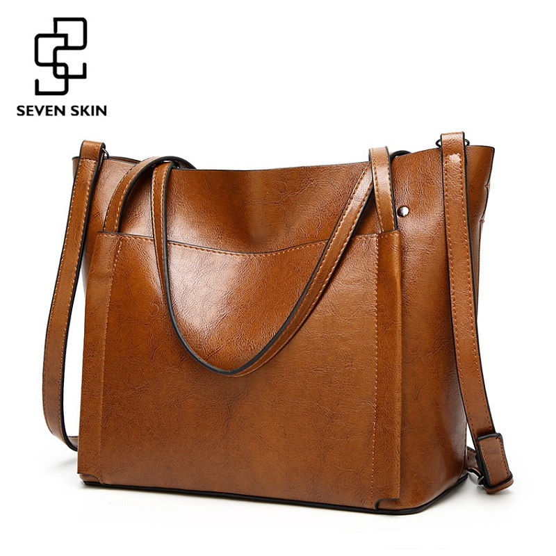 SEVEN SKIN Famous Brands Handbags Women PU Leather Bag Large Casual Tote Bags 2018 Sac New Fashion Luxury Messenger Bags bolsas подвески и кулоны коюз топаз подвески и кулоны т901034168