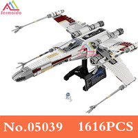 Star Cool Model Wars 1616Pcs Red Five X Starfighter Wing Building Blocks Bricks Toy Compatible With
