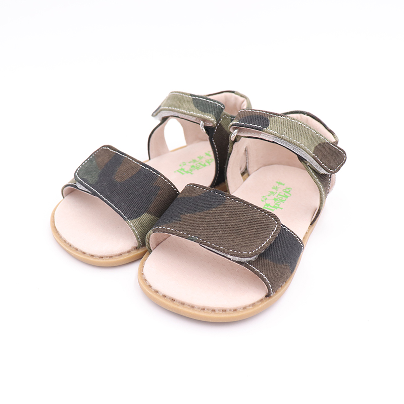 Image 5 - TipsieToes 2020 Summer Kids Shoes Brand Closed Toe Toddler Boys Sandals Barefoot Shoes Kids SandalsSandals   -
