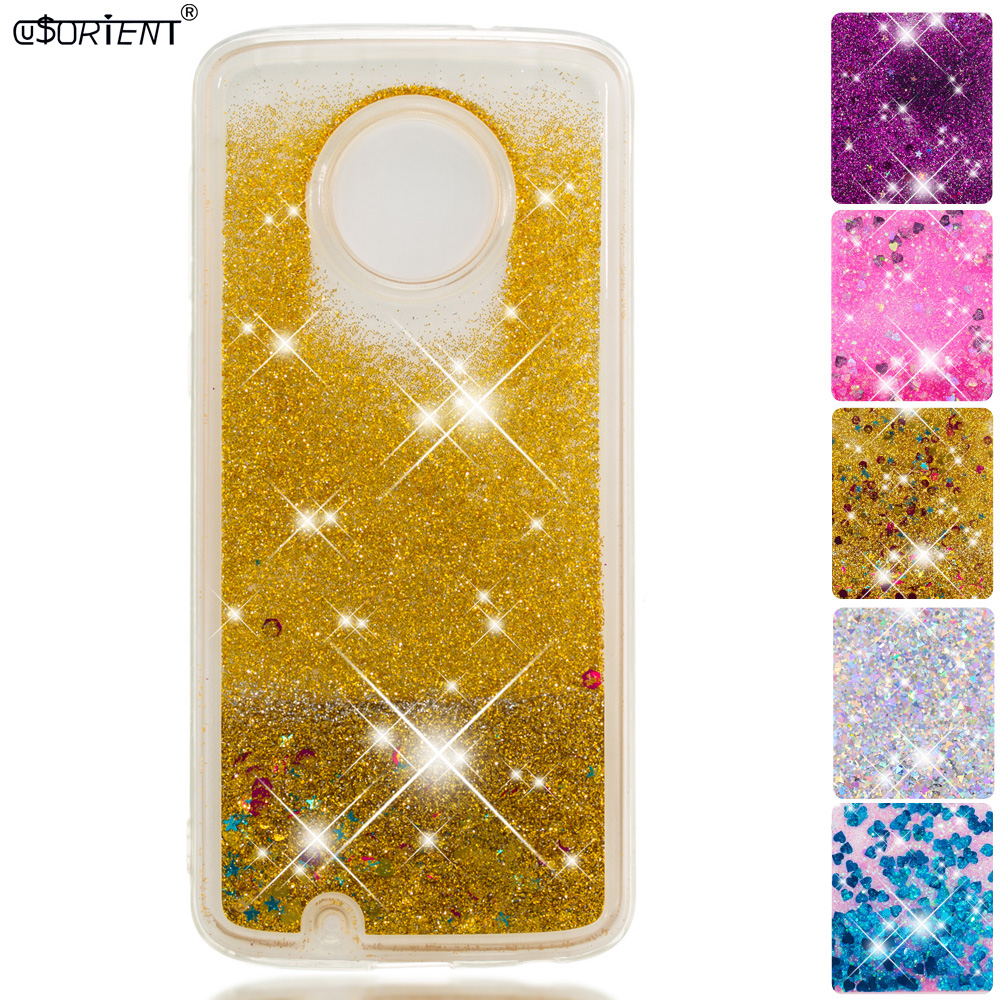 Glitter Liquid Case For Motorola Moto G6 2018 Motog6 Bling Dynamic Quicksand Phone Cover Xt1925 Xt1925-10 Xt1925-7 Fitted Cases Orders Are Welcome. Cellphones & Telecommunications