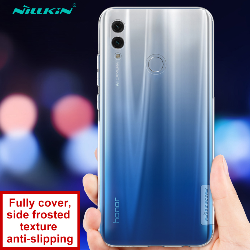 Huawei <font><b>Honor</b></font> 10 <font><b>Lite</b></font> Case <font><b>Honor</b></font> 10 Cover <font><b>Nillkin</b></font> Nature Series Clear Soft TPU Case for Huawei <font><b>Honor</b></font> <font><b>9</b></font> <font><b>Lite</b></font> image