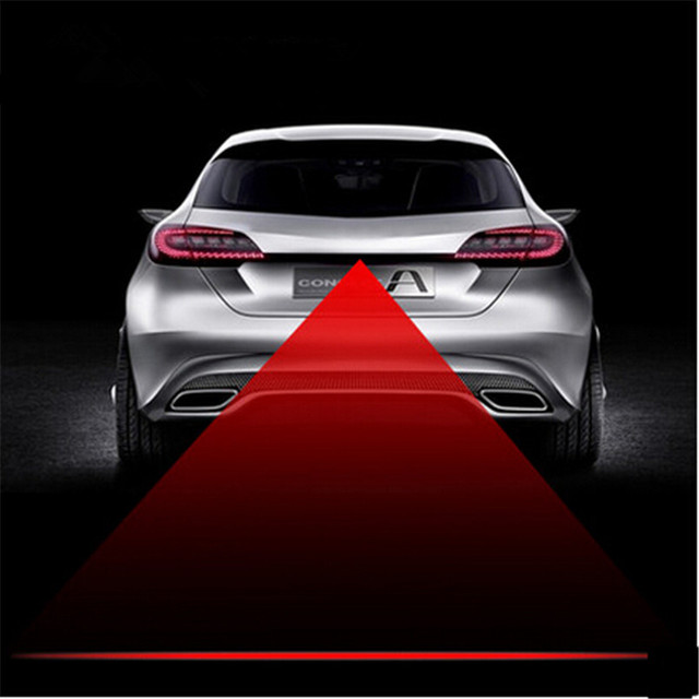 Car Styling Tail Laser Fog Lamp Safety Warning Lights For Acura Zdx
