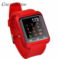 A ZN8 Free Shipping High Quality Luxury Fashion Smart Bluetooth Wrist Watch Pedometer Healthy For IPhone