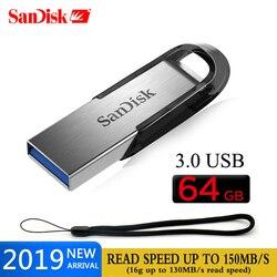 SanDisk CZ73 pamięć USB pendrive 32GB pen drive 16GB 64GB 128GB 256G usb 3.0 wysokiej prędkości 150 mb/s pamięć USB pamięci usb ULTRA