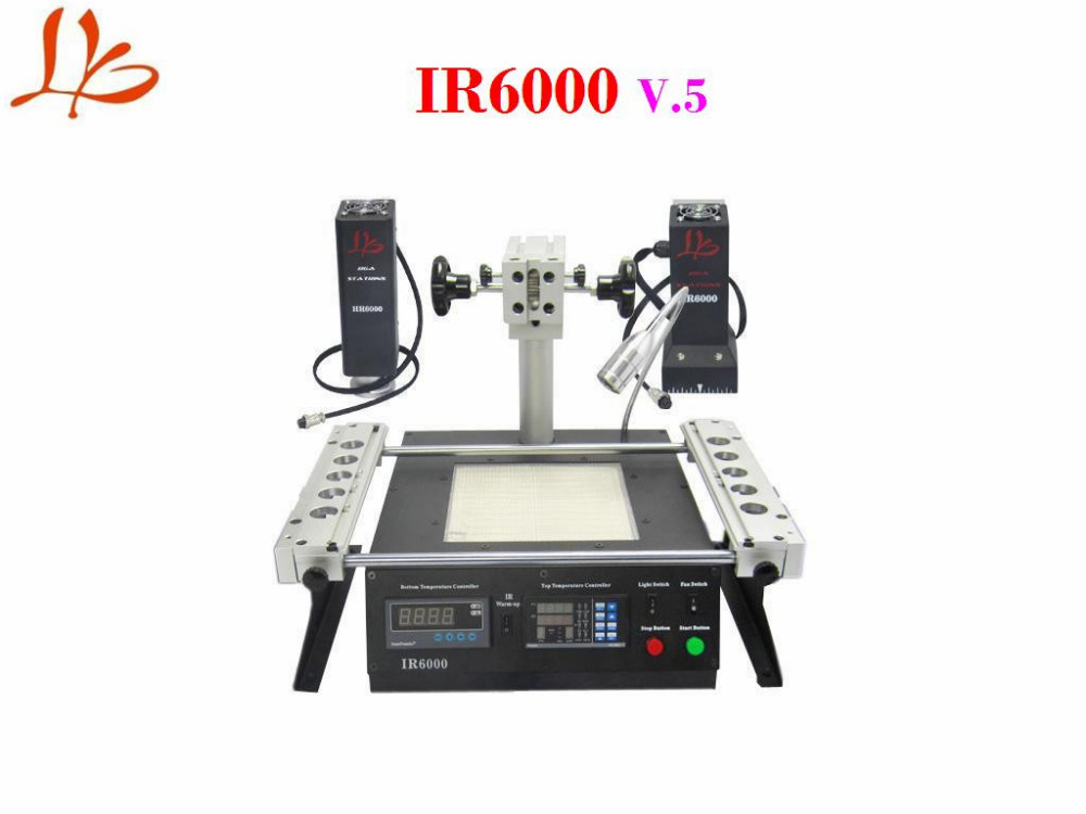 LY BGA reballing machine IR6000 V.5 with hot air and infrard top heating bga rework station bga reballing kits for ir6000 bga rework station pc410 original omega wire tm 902c thermocouple wire