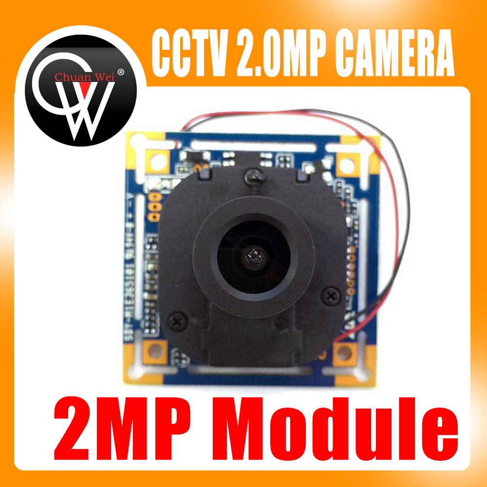 2MP AHD 1080P 3.6mm lens+IR Cut Camera Module 1080P 2.0MP CCTV PCB Main Board 1200tvl ahd camera module 960p 1 3mp cctv pcb main board nvp2431h t151 3mp12mm lens ir cut surveillance cameras ods bnc cable