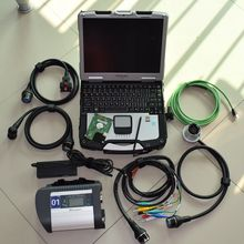 mb diagnostic c4 star sd connect 4 with software 240gb hdd with laptop toughbook cf30 ram 4g car truck diagnostic full set