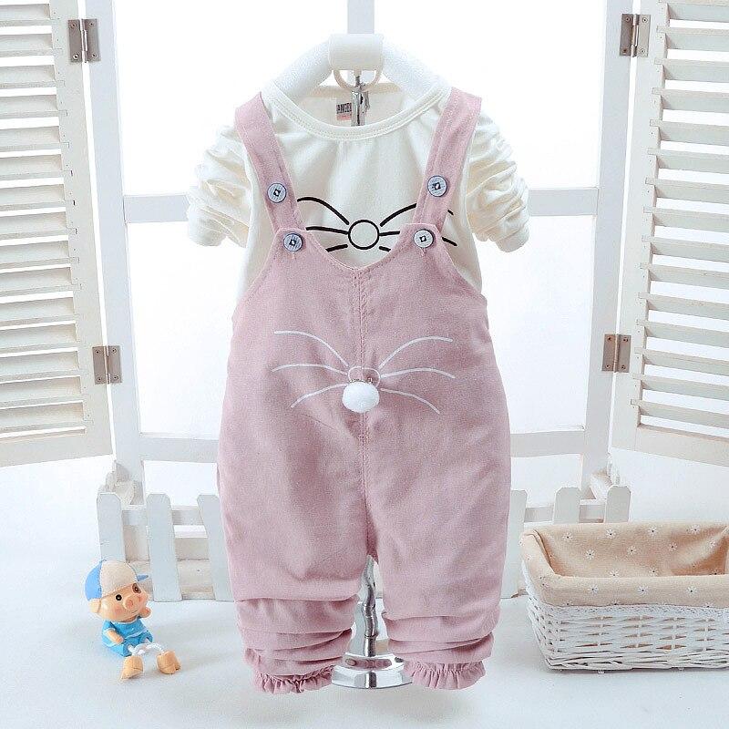 2018 Naujas mados kūdikių mergaičių drabužių rinkinys Vasaros - Kūdikių drabužiai - Nuotrauka 2