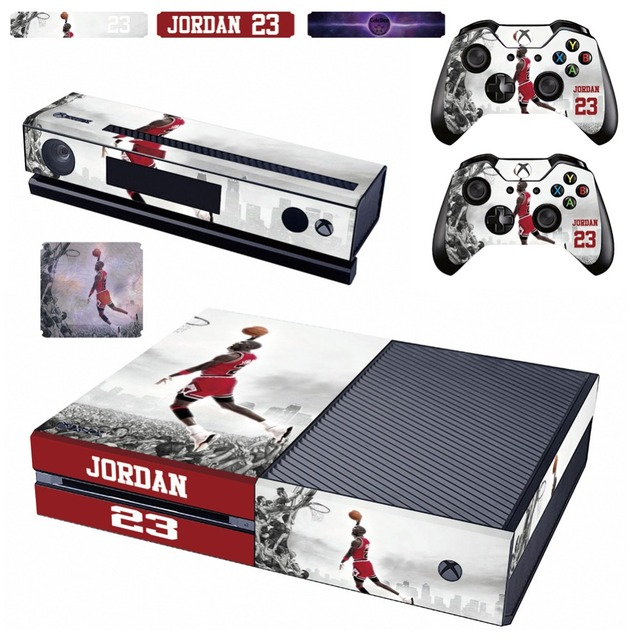 low priced 60846 c1488 Michael Jordan Dunks XboxOne Vinyl Skin Decal Sticker Cover Case Shell for  Xbox One Console and Wireless Controller   4 Stickers