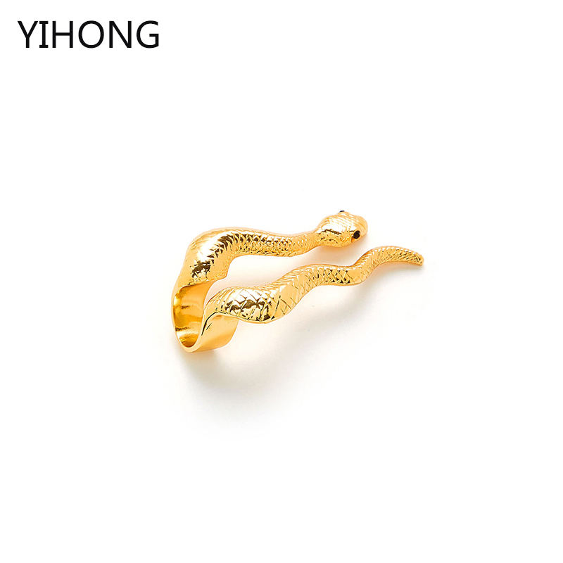Europe and the United States selling jewelry Anaconda snake shape alloy finger opening ring