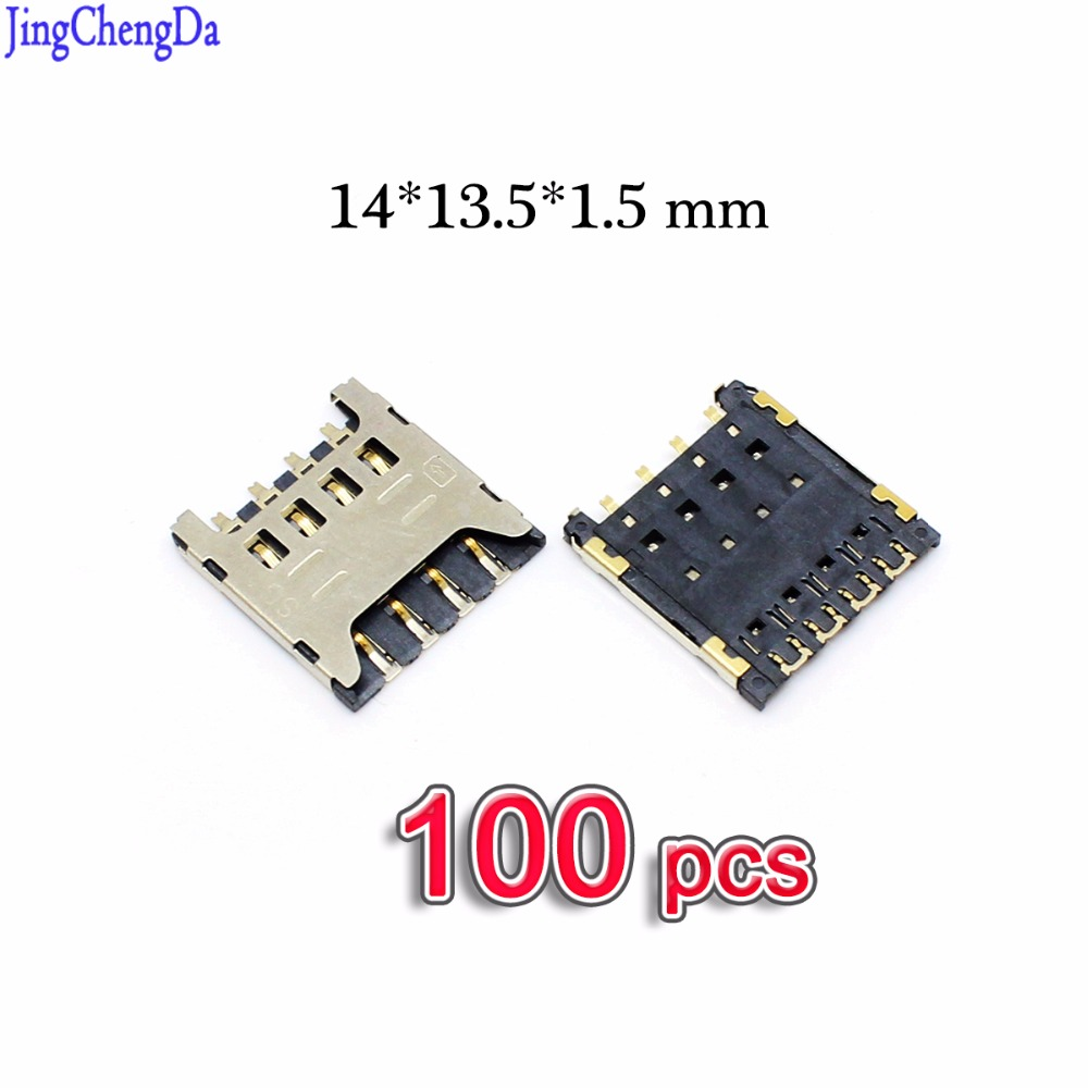 Jing Cheng Da 100pcs/lot For Huawei Y625 Y625-U32 Honor 3C HOL t00 U00 T10 U10 Sim Card Reader Tray Holder Connector Socket Slot