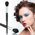 1Pc Nylon Fiber Black Silver New Pro Makeup Brush Countour Face Powder Blusher Brush Freeshipping