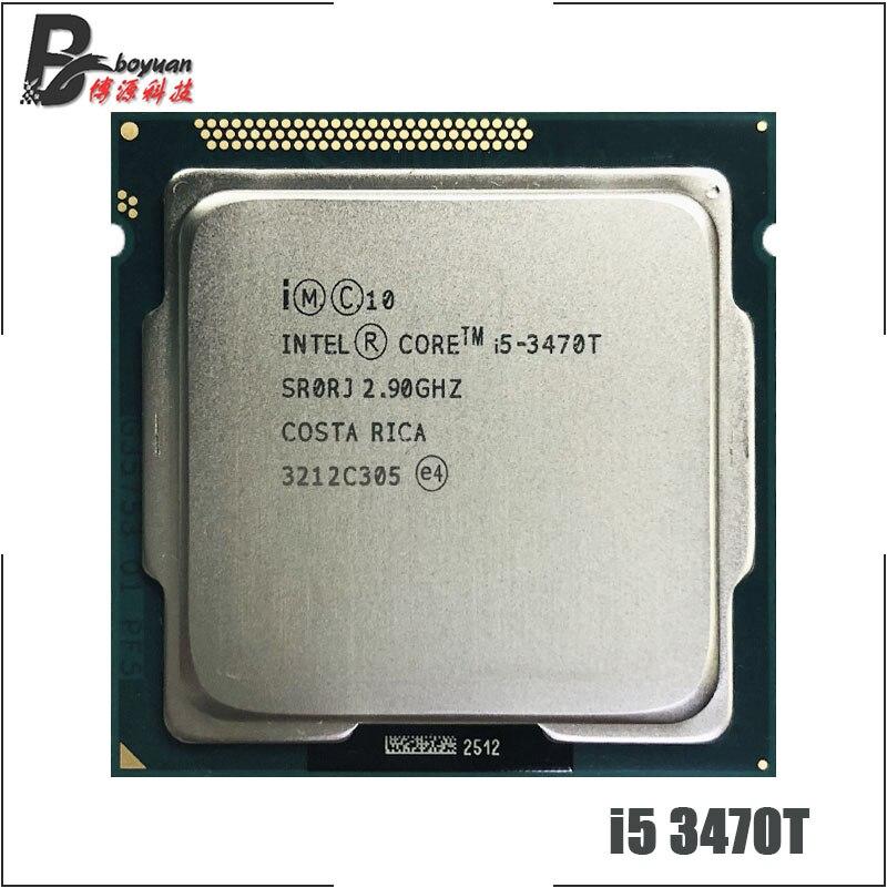 Intel Core i5 3470T i5 3470T 2 9 GHz Dual Core Quad Thread CPU Processor 3M