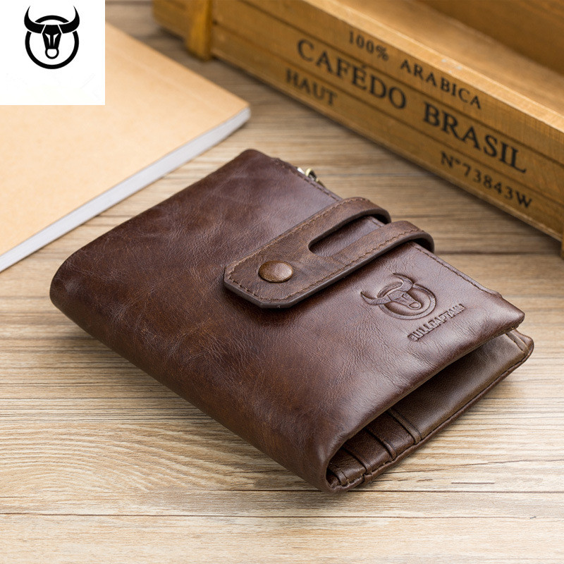 Brand Men Genuine Leather Wallet Male Coin Pocket Multifuctional Wallet Purse Business Credit Card Case Driving License Holder