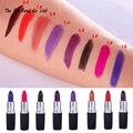 2016 Banda de Batom Mate Maquillaje Maquiagem Vampire Dark Red Lip Tatuaje Cosmético Púrpura mate Impermeable Lápiz Labial Mate Lot labiales