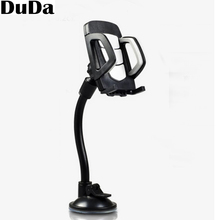 Universal Telephone Car Holder Windshield Mount Phone Bracket Long Arm Mobile Stand Cellphone Accessories