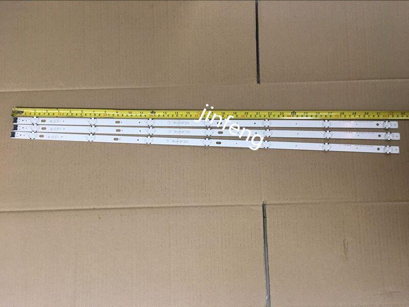 New Kit 3 PCS 7LEDs 830mm LED Backlight Strip For LG TV 43UJ634V 43LJ61_FHD_L LC43490059A LC43490058A Innotek 17Y 43inch_A-Type