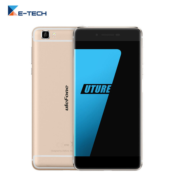 Original Ulefone Future Smartphone MTK6755 Octa Core 5.5 Inch 1920x1080 FHD Screen 4GB RAM 32GB ROM 13MP Android 6.0 Cell Phone