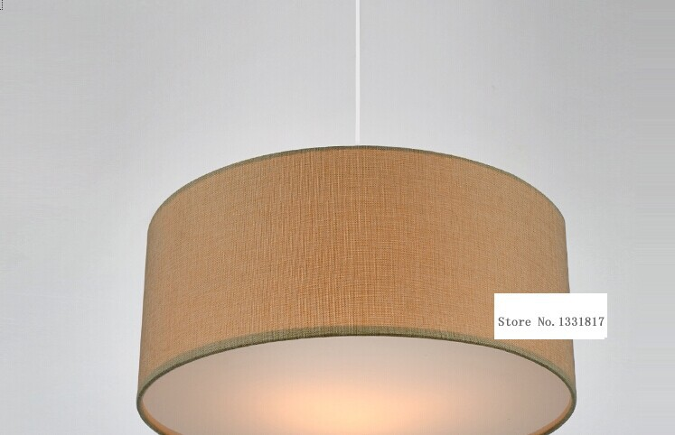 Nordic fabric lampshade modern pendant light fixture living room and  bedroom decor 110 240v E27-in Pendant Lights from Lights & Lighting on  Aliexpress.com ...