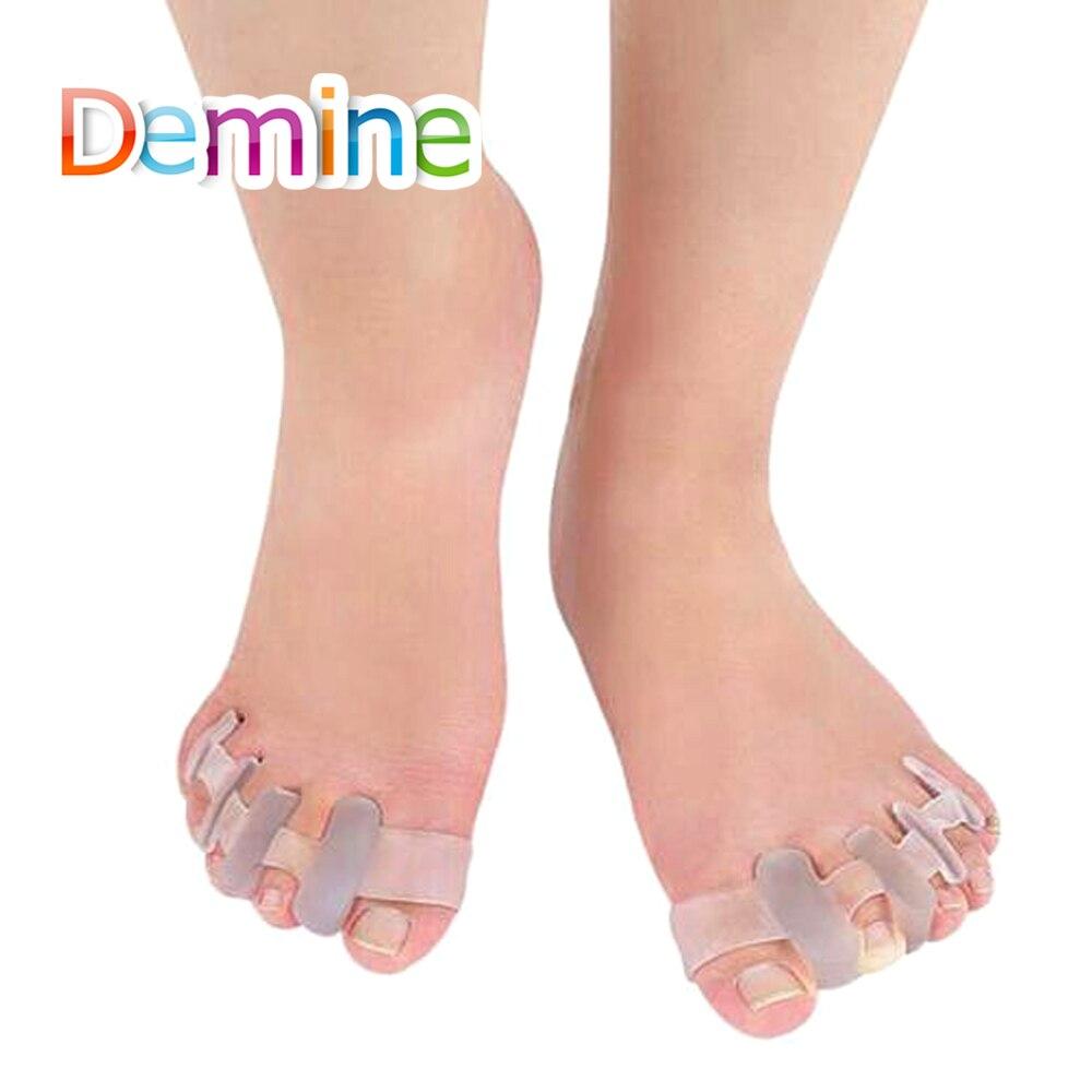 Erfinderisch Demine Hallux Valgus Orthesen Bunion Splint Für Separator Alle Big Bone Orthopädische Fuß Toe Rohr Einfügen Pads Schuhe Kissen Schuhe