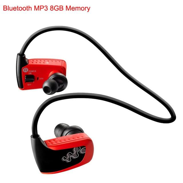Marca Deportivos Bluetooth MP3 Real Player 8GB para Sony Walkman NWZ-W262 Pro 8G Memoria Ruizu Inalámbrico Audifonos Reproductors de Musica mp3 Auriculares
