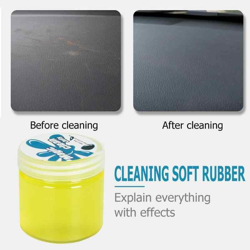 Auto Toetsenbord Cleaner Lijm Gel Interieur Panel Air Vent Outlet Dashboard Stof Super Zachte Sticky Schoon Gel Modder Remover Dust schoon