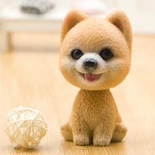 Car Shaking Head Toy for Car Decoration Nodding Dog Auto Shaking Head Dog Dolls Interior Dashboard Decoration Accessories недорого